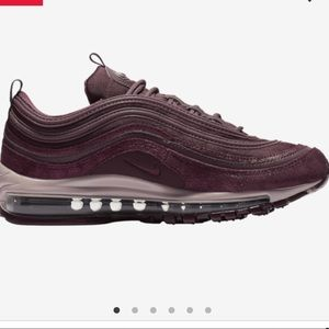 Nike air max 97 maroon
